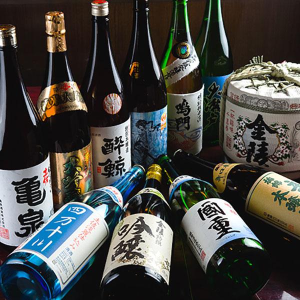 四国焼酎や地酒