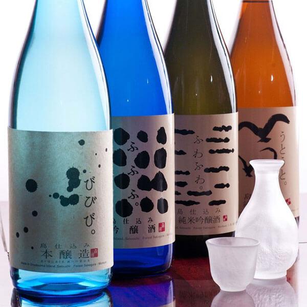 小豆島で唯一の酒蔵「森國酒造」の日本酒